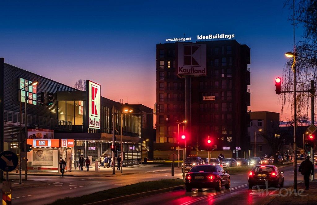 Покривна реклама Idea Buildings