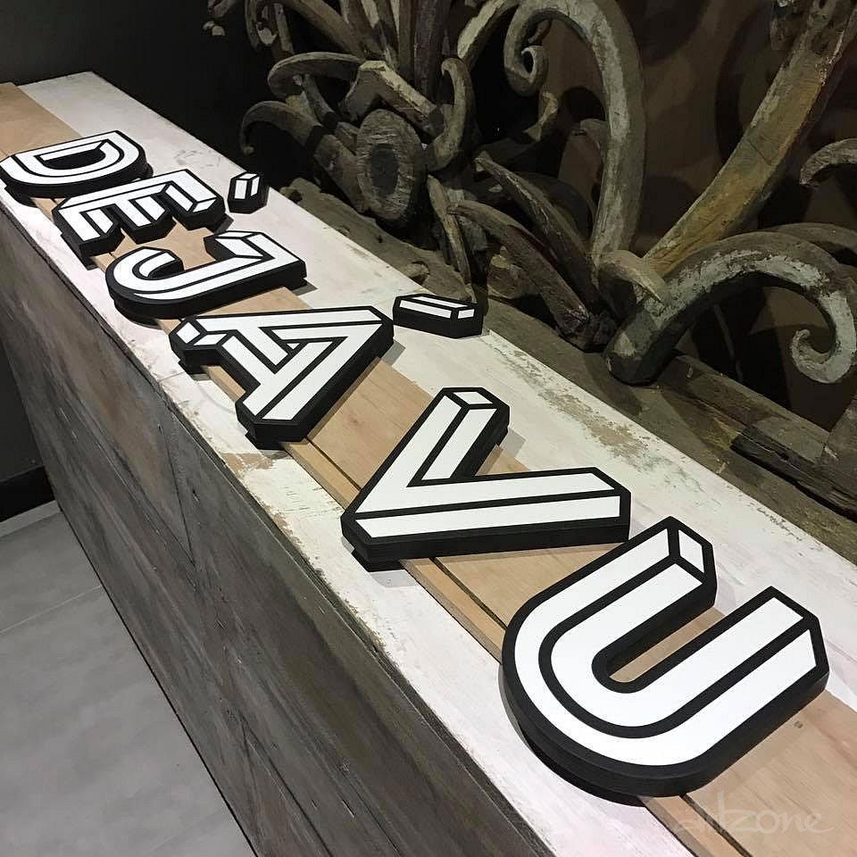 Дървени надписи