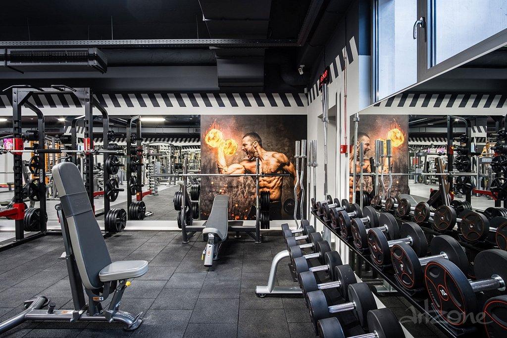 Фолио за фитнес зала