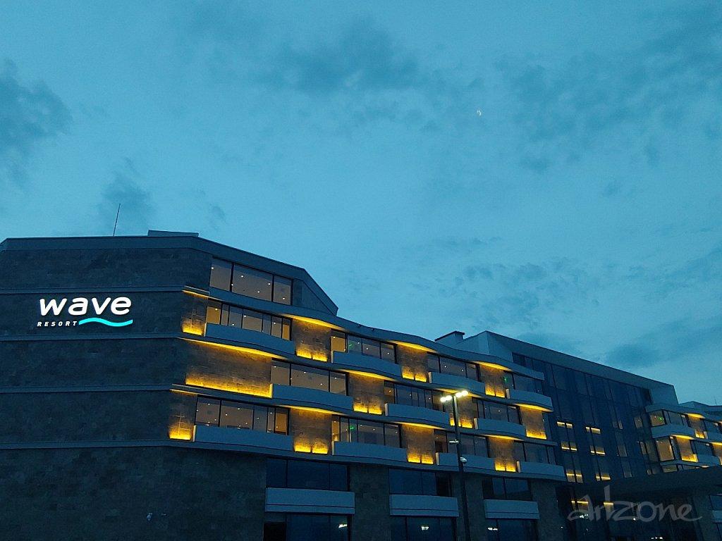 Светеща табела хотел WAVE RESORT Поморие - Hotel Sign Wave Resort Pomorie