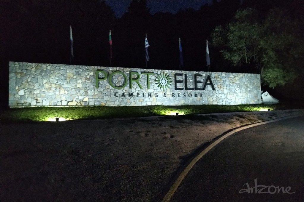 Светеща табела Porto Elea Camping & Resort