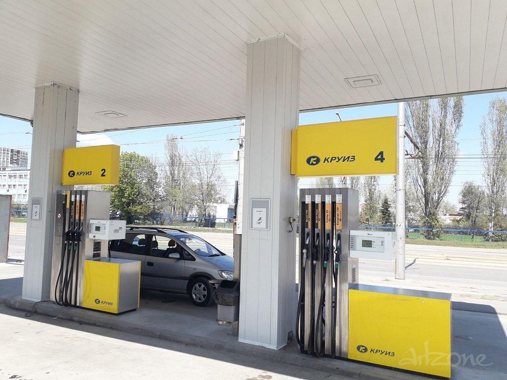 Рекламни табели за бензиностанции
