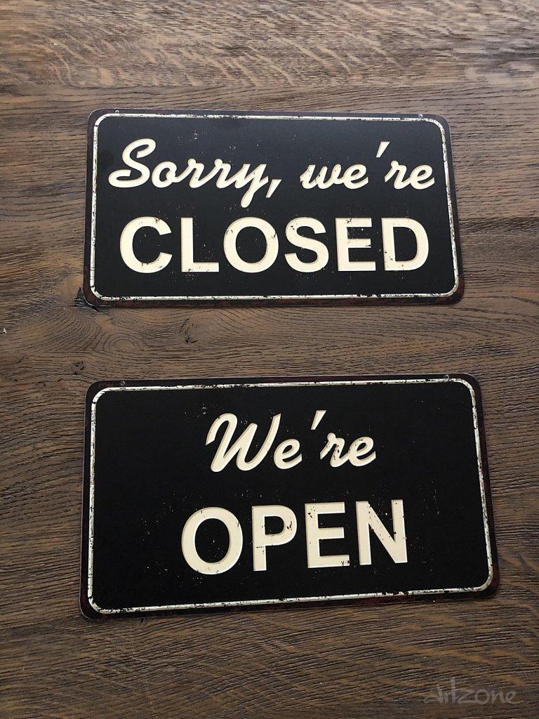Open Closed  табела